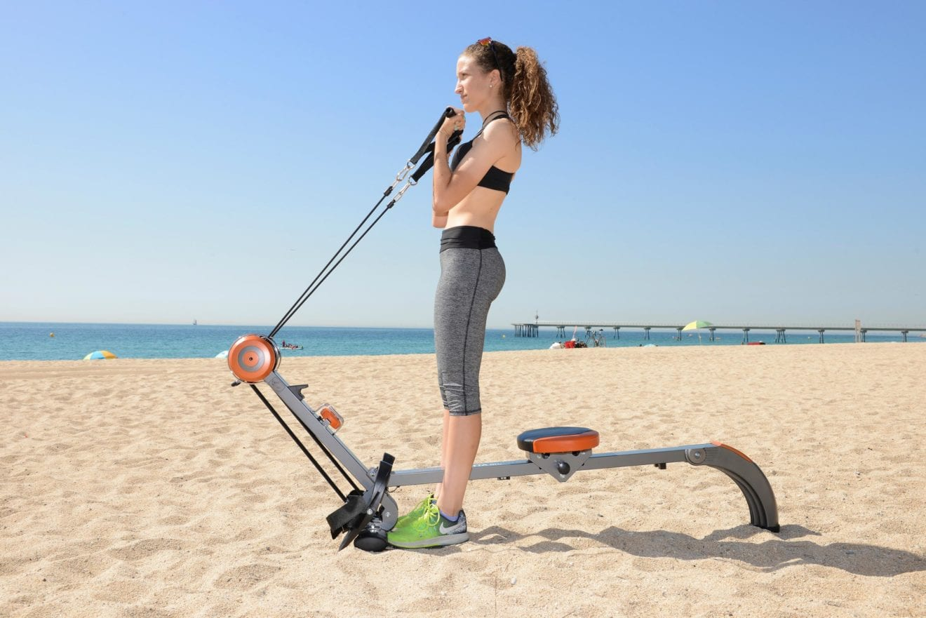 Machine à ramer Skandika Regatta Multi Gym Poseidon en plein air