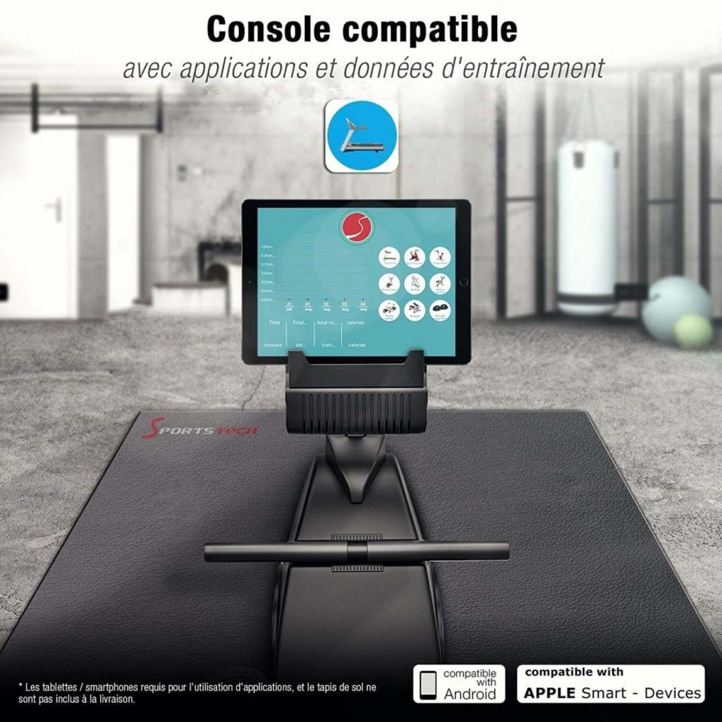 console compatible avec smartphones et tablettes