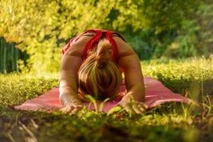 yoga exterieur