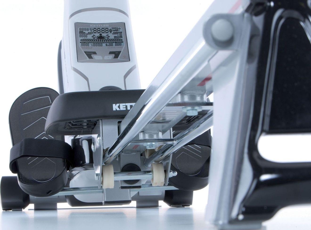 Vue d'ensemble de l'ergomètre Kettler Coach M