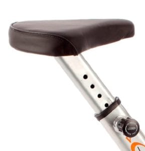 La selle ajustable en hauteur du V-Fit MXC1