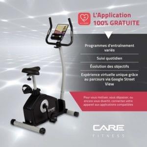 Vue d'ensemble du Care Fitness CV-351