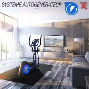 système auto-générateur du sportstech CX2