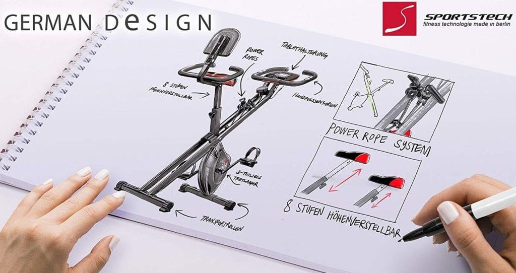 Conception du vélo de fitness F-Bike X100