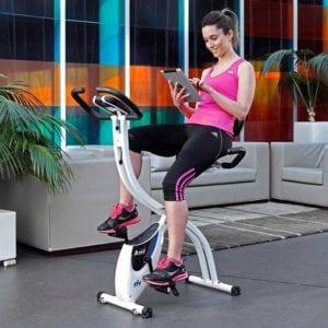 Vue d'ensemble du vélo pliable de ION Fitness