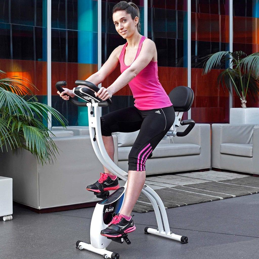 Entrainement economique avec le velo d'appartement Axel Fi022 Ion Fitness.