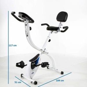 Dimensions du vélo d'appartement AXEL FI022 de ION Fitness
