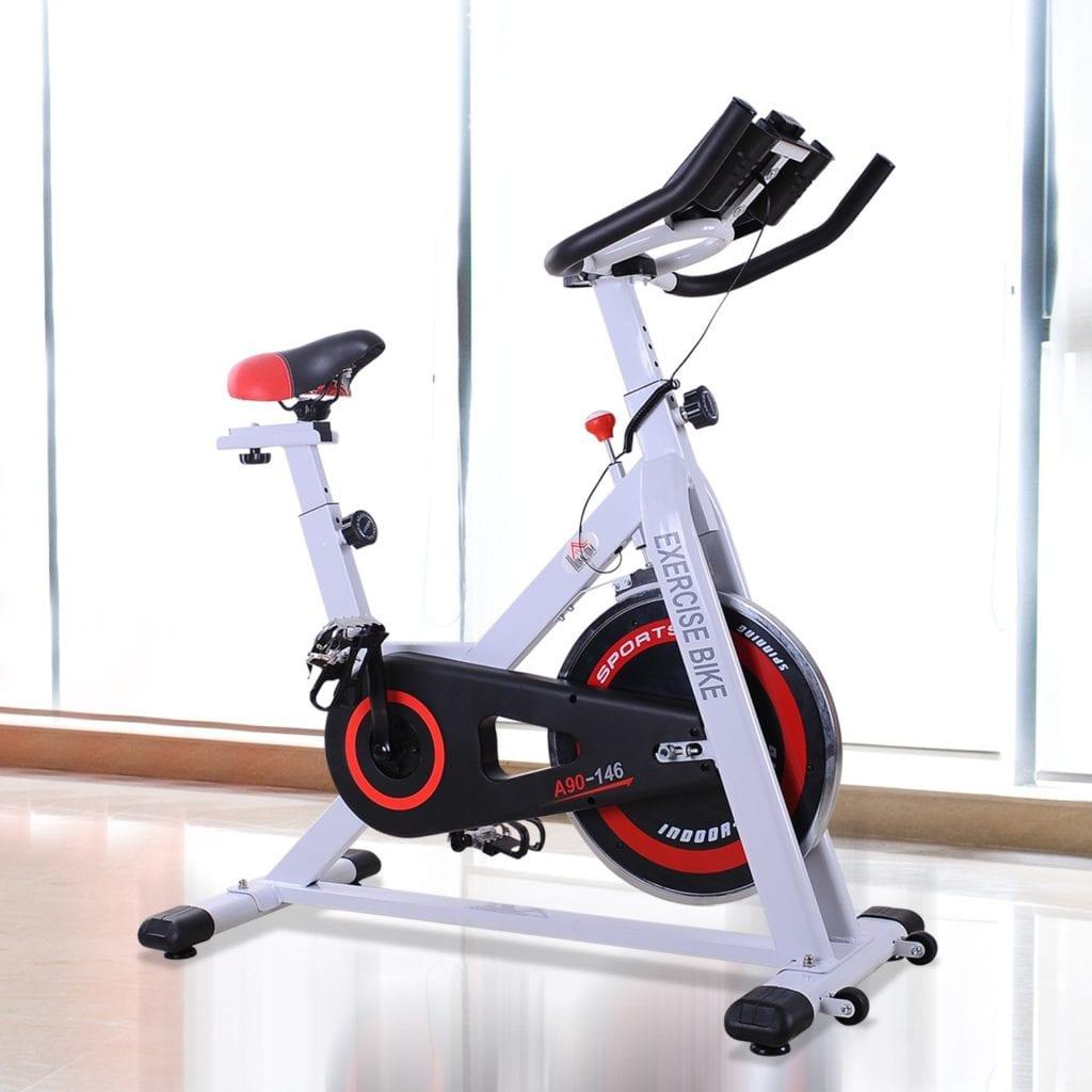 Vélo De Spinning Homcom