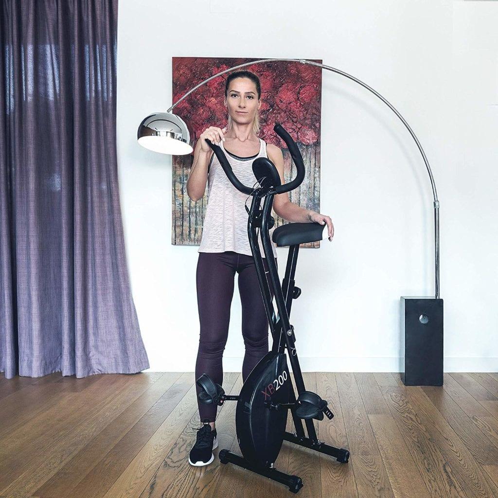Velo d'appartement Xb200 blk de type x-bike pour le fitness à découvrir sur le site sport et fitness