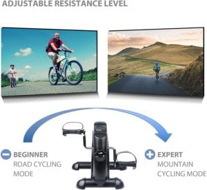 Résistance Du Mini Vélo Ultrasport Mini Bike 50