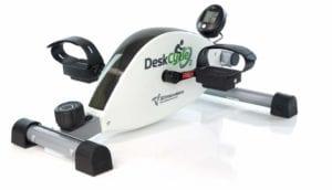 Vue Avant Du Mini Vélo D'intérieur MagneTrainer DeskCycle2