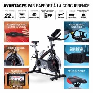 Avantages Du Vélo De Biking Sportstech Sx400