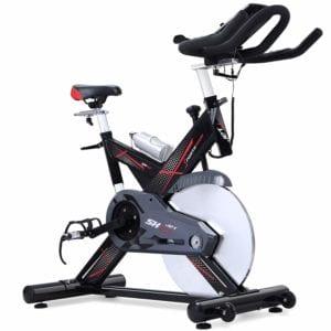Vue d'ensemble du vélo De Spinning Sportstech Sx400